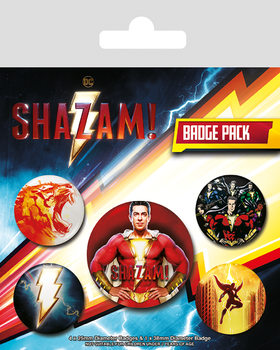 Badge set Shazam - Power