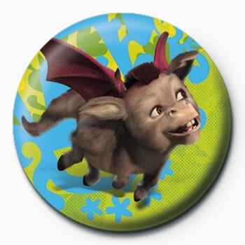 SHREK 3 - donkey Badge