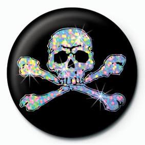 SILVER SKULL Badges