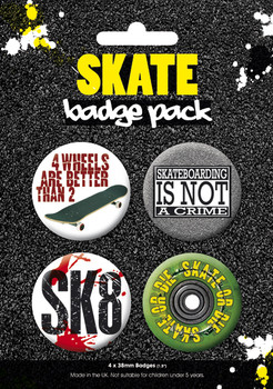 SKATE 2 Badge Pack