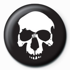 SKULL (BLACK) Badges