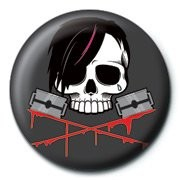 SKULLDUGGERY - emo Badge