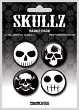 SKULLZ Badge Pack