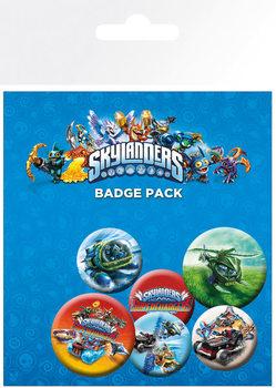 Skylanders Superchargers - Characters Badge Pack