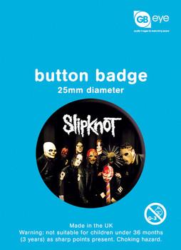 SLIPKNOT - band Badge