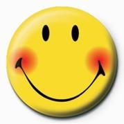 SMILEY - BLUSH Badge