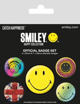 Smiley - Classic Badge Pack