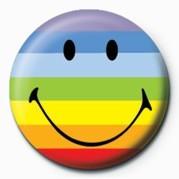 SMILEY - RAINBOW Badge