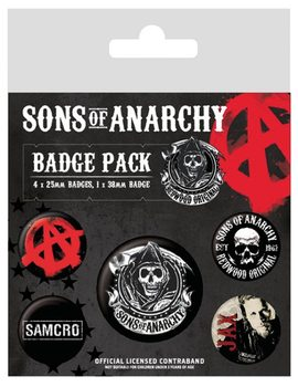 Badge set Sons of Anarchy