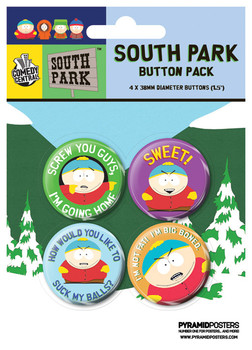 SOUTH PARK - Cartman Badge Pack