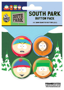 SOUTH PARK - Faces Badge Pack