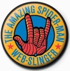 SPIDERMAN - web slinger Badge