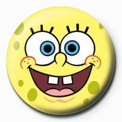 SPONGEBOB - face Badge