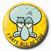 SPONGEBOB - hate Badge