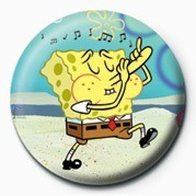 SPONGEBOB - music Badge