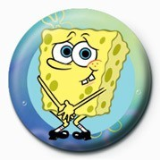 SPONGEBOB - naked Badge