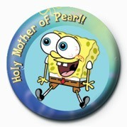 SPONGEBOB - pearl Badges
