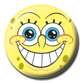 SPONGEBOB - smile Badge