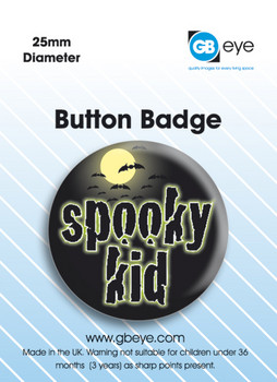 Spooky Kid Badges