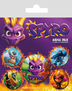 Spyro - Reignited Characters Badge Pack