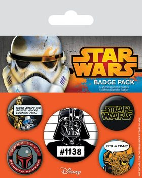 Badges Star Wars - Cult