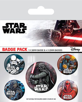 Star Wars - Dark Side Badge Pack