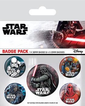 Star Wars - Dark Side Badge Pack