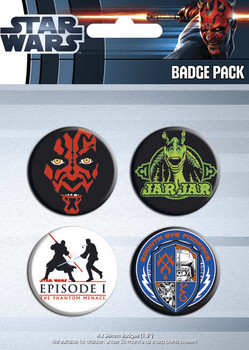 STAR WARS - episode 1 Badge Pack