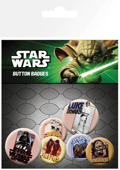Badges Star Wars - Retro