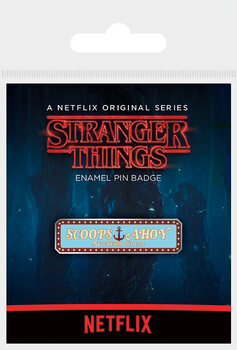 Stranger Things - Scoops Ahoy Badge