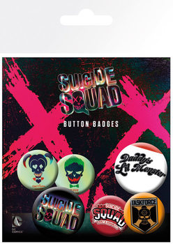 Suicide Squad - Lil Monster Badge Pack