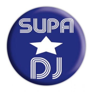 SUPASTAR DJ Badge