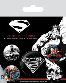 Superman - Dark Badge Pack
