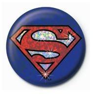 SUPERMAN - shield Badge