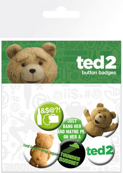 Badges Ted 2 - Mix