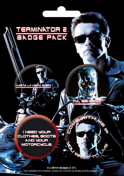 TERMINATOR 2 GB Pack Badge Pack
