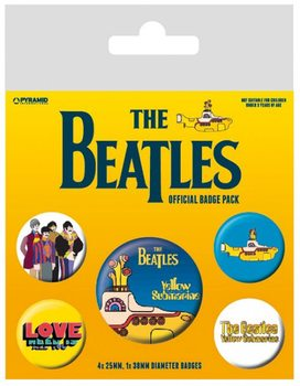 The Beatles - Yellow Submarine Badge Pack