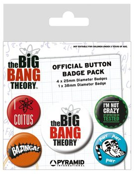 The Big Bang Theory - Logo Badges