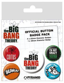 The Big Bang Theory - Logo Badge Pack
