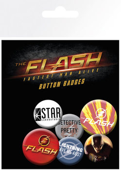 The Flash - Mix Badge Pack