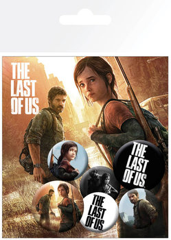 The Last of Us - Ellie And Joel Badge Pack