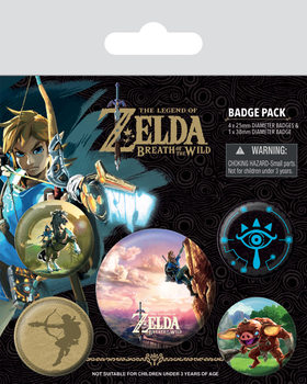 The Legend of Zelda Breath Of The Wild - The Climb Badge Pack