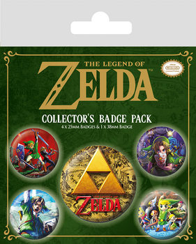 The Legend Of Zelda - Classics Badge Pack