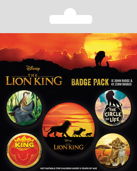 The Lion King - Life of a King Badge Pack