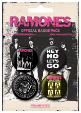 THE RAMONES Badge Pack