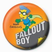 THE SIMPSONS - milhouse fallout boy Badge