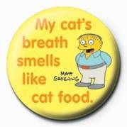 THE SIMPSONS - ralph cat's breath Badge