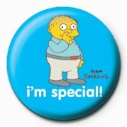 THE SIMPSONS - ralph i am special! Badge