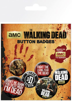 The Walking Dead - Phrases Badge Pack