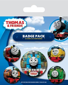 Badge set Thomas & Friends - The Faces of Sodor